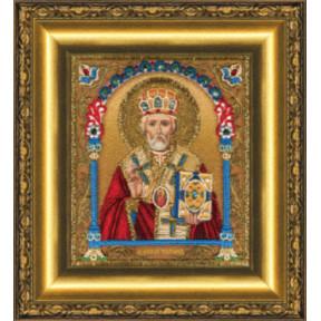 Набор для вышивания Чарівна Мить Б-1230 Икона святителя Николая