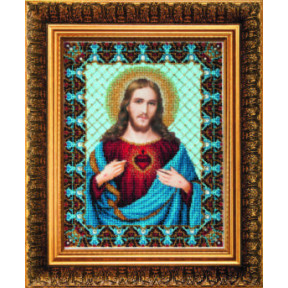 Набор для вышивания Чарівна Мить Б-1231 Пресвятое Сердце Иисуса