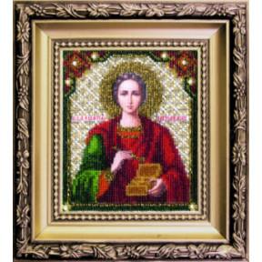 Набор для вышивания Чарівна Мить БЮ-007 Святой Пантелеймон