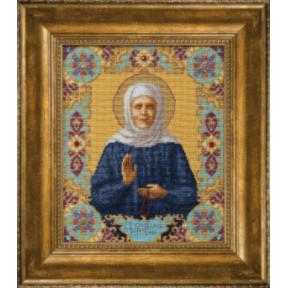 Набор для вышивки крестом Чарівна Мить М-144 Икона Святой