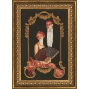 Набор для смешанной вышивки Чарівна Мить М-160 Театральный