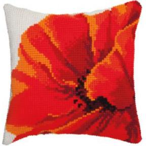 Набор для вышивки подушки Чарівна Мить РТ-180 Мак фото