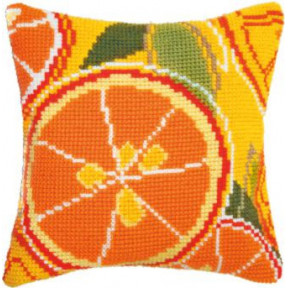 Набор для вышивки подушки Чарівна Мить РТ-179 Цитрусовый час