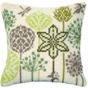 Набор для вышивки подушки Чарівна Мить РТ-174 Полевые травы фото