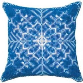 Набор для вышивки подушки Чарівна Мить РТ-178 Снежинка фото