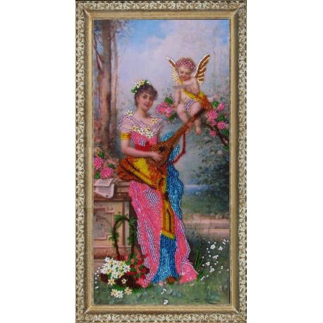Набор для вышивания бисером Butterfly 408 Ангел вдохновения фото
