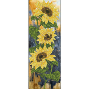 Набор для вышивки бисером КиТ 21115 Цветок солнца фото