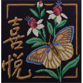 Набор для вышивки крестом Panna И-1688 Радость