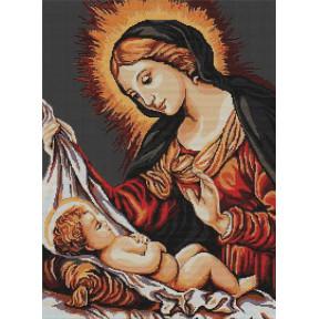 Набор для вышивки крестом Luca-S  Божья Матерь B325