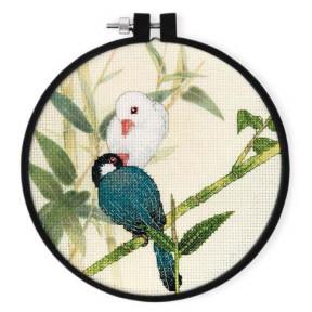Набор для вышивки крестом XIU CRAFTS 2801905 Пара фото