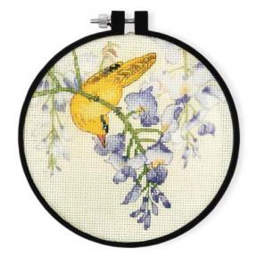 Набор для вышивки крестом XIU CRAFTS 2801901 Желтая птица и
