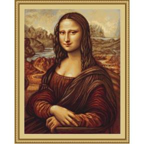 Набор для вышивки крестом Luca-S Мона Лиза B416