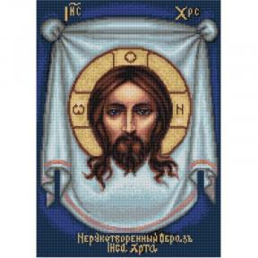 Набор для вышивки крестом Luca-S Спас Нерукотворный B420