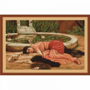 Набор для вышивки крестом Luca-S B426 Приятная Праздность