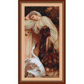 Набор для вышивки крестом Luca-S B430 Одалиска