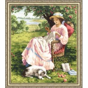Набор для вышивки Золотое Руно ЧМ-017 Яблоневый Сад