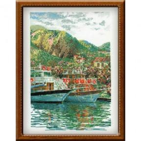 Набор для вышивки крестом Риолис 100/006 Южная пристань фото