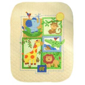 Набор для вышивания одеяла Dimensions 70-73544 Savannah Ouilt