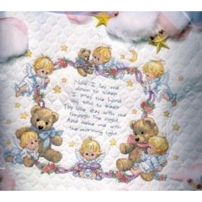 Набор для вышивания одеяла Dimensions 3194 Nighttime Prayer