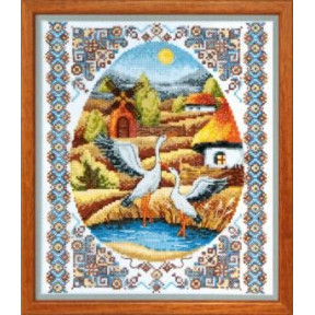 Набор для вышивки крестом Чарівна Мить ВТ-011 На заливных лугах