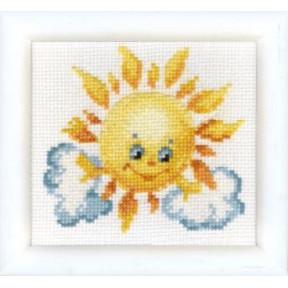 Набор для вышивки крестом Чарівна Мить ВТ-020 Ласковое солнышко