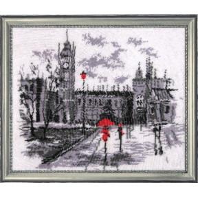Набор для вышивания бисером Butterfly 343 Лондон (по картине О.