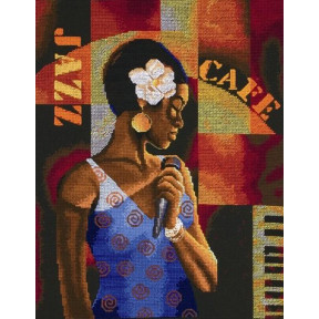 """Набор для вышивания Anchor MAIA 01149 """"Jazz Café/Джаз-кафе """""""