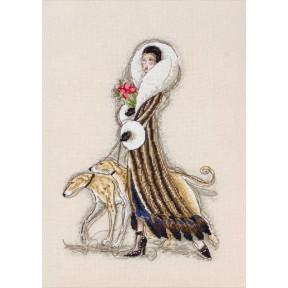 """Набор для вышивания Anchor MAIA 01168 """"Femme Fatale/Роковая"""