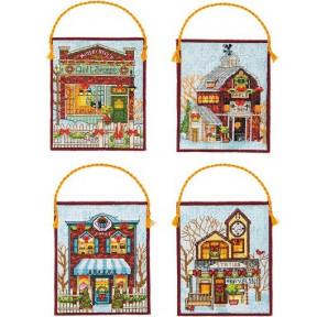 Набор для вышивания Dimensions 70-08954 Winter Village
