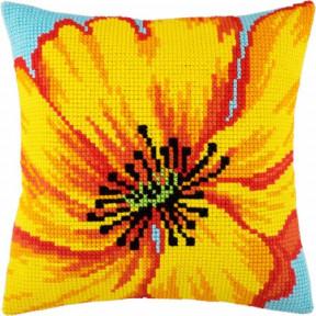 Набор для вышивки подушки Чарівниця Z-38 Жёлтый цветок фото