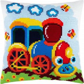 Набор для вышивки подушки Чарівниця Z-42 Паровоз фото