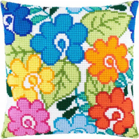 Набор для вышивки подушки Чарівниця Z-45 Летние цветы фото