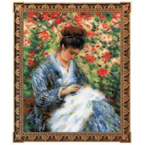 Набор для вышивки крестом Риолис 100/051 «Мадам Моне за
