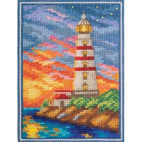 Набор для вышивки крестом Panna ГМ-1826 Крымский маяк фото
