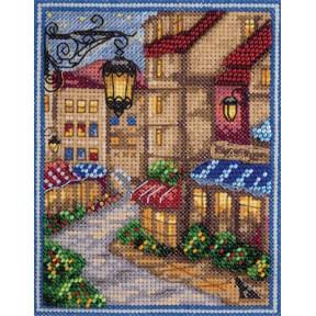 Набор для вышивки крестом Panna ГМ-1824 Парижская улочка фото