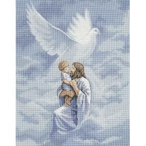 Набор для вышивания крестом Classic Design Голубь мира 4391