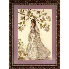 Набор для вышивки крестом Panna Ф-1334 Леди-Весна