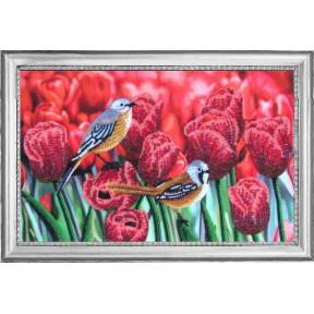 Набор для вышивания бисером Butterfly 526 Тюльпановый дуэт (по