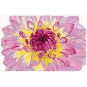 Набор для вышивания крестом DMC BK1339 Flower Bloom (Цветение цветка)