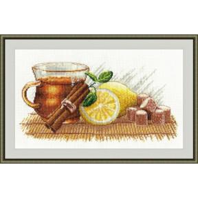 Набор для вышивки крестом Овен 900 Зимний чай
