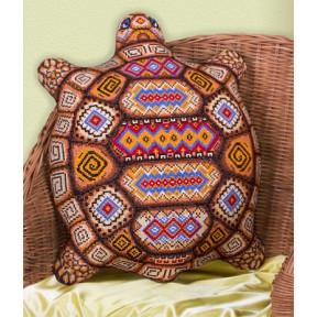 Набор для вышивки крестом Panna ПД-1551 Черепашка(Подушка)
