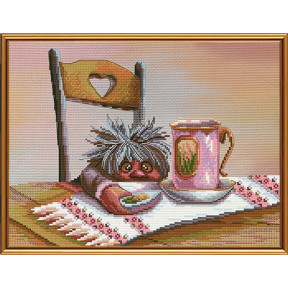Набор для вышивания крестом Нова Слобода СВ-3046 Вкусный десерт