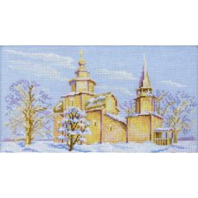 Набор для вышивки крестиком RTO M063 Церковь Иоанна Богослова