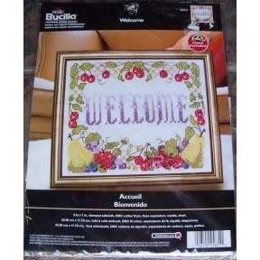 Набор для вышивания Bucilla 45831 Welcome фото