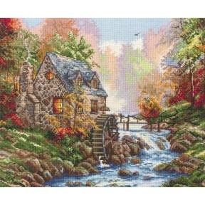 "Набор для вышивания Anchor MAIA 01216 ""Cobblestone Mill/"