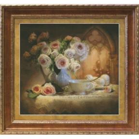 Набор для вышивки крестом Юнона 1203 Чайный натюрморт фото