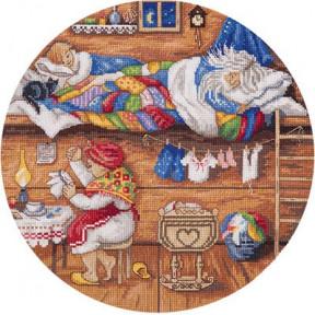 Набор для вышивки крестом Panna СО-1838 Домовой - в семье покой!
