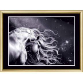 Набор для изготовления картины со стразами Чарівна Мить КС-189