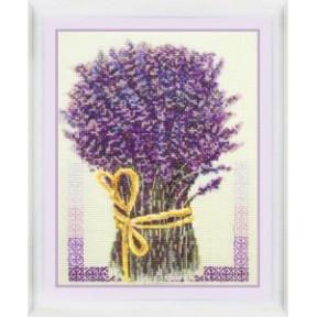 Набор для вышивания крестиком OLanTa VN-049 Букет лаванды фото