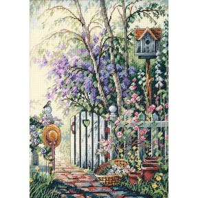 Набор для вышивания крестом Classic Design Калитка в сад 4392